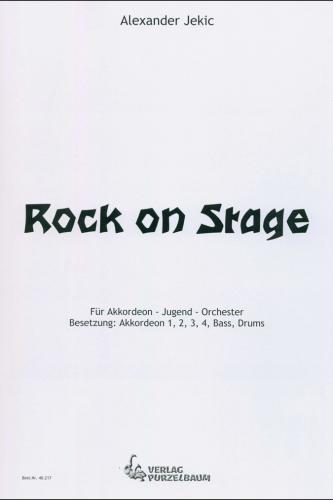 Rock on Stage - Partitur