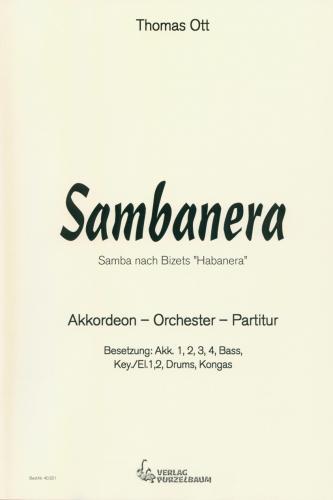 Sambanera - Partitur
