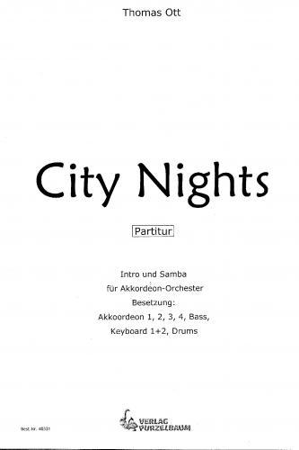 City Nights - Partitur