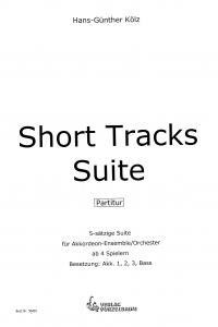 Short Tracks Suite - Partitur