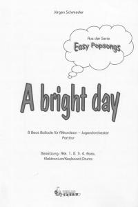 A bright day - Partitur
