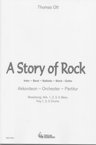 A Story of Rock - Partitur