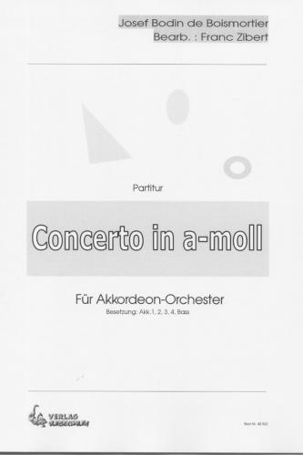 Concerto in a-moll - Partitur
