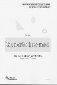 Concerto in a-moll - Partitur