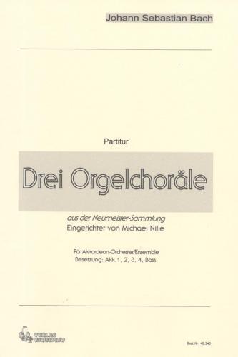 Drei Orgelchoräle - Partitur