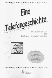 Eine Telefongeschichte - Partitur