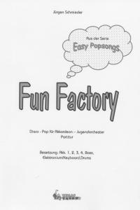 Fun Factory - Partitur