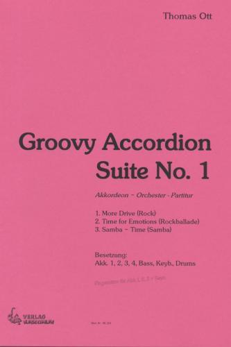 Groovy Accordion Suite No. 1 - Partitur