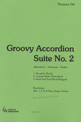 Groovy Accordion Suite No. 2 - Partitur