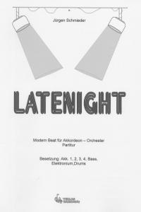 Latenight - Partitur