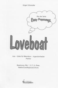 Loveboat - Partitur