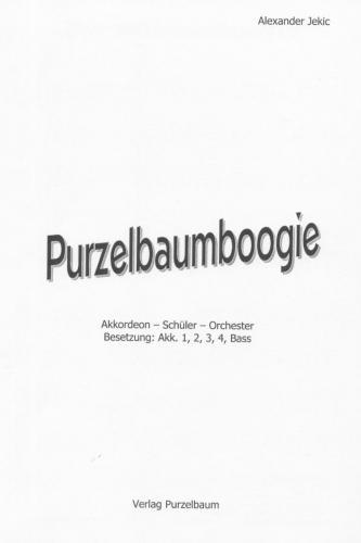 Purzelbaumboogie - Partitur
