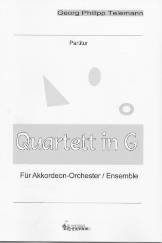 Quartett in G - Partitur