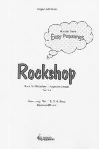 Rockshop - Partitur