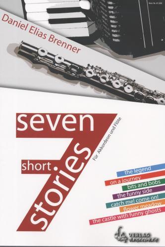 Seven Short Stories für Flöte und Akkordeon - Mängelexemplar