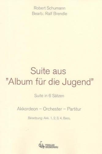 Suite aus Album für die Jugend - Partitur