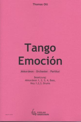 Tango Emoción - Partitur