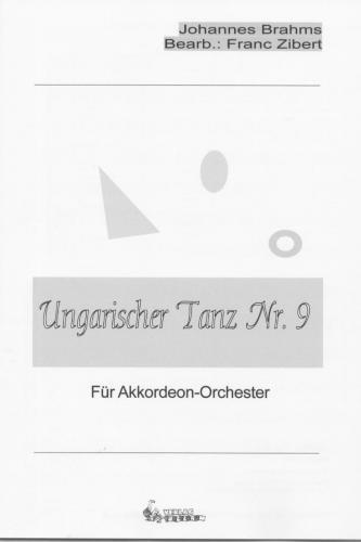 Ungarischer Tanz Nr. 9 - Partitur