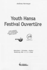 Youth Hansa Festival Ouvertüre - Partitur